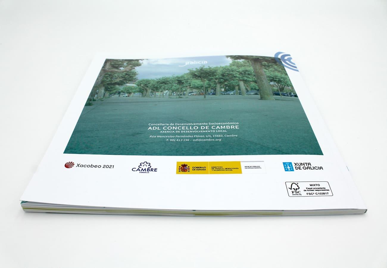 Empresa de diseño gráfico en A Coruña especializada en creación de marca