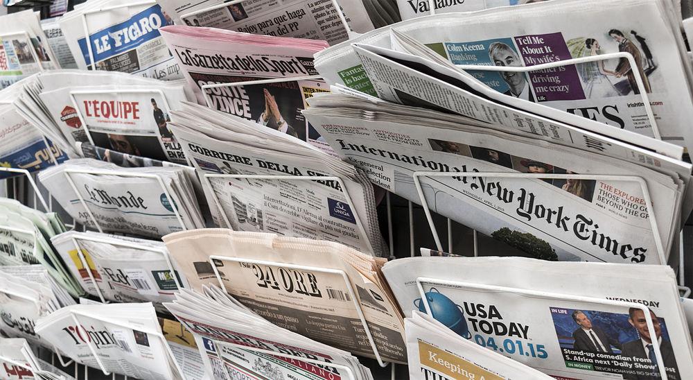 Diseño editorial de periódicos